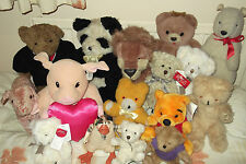 SOFT TOYS   BEARS, LION, DUCK, LAMB - Russ, Sunkid, etc - please chose from menu