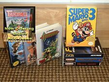 (NO GAME) Custom Nintendo NES Archival Case *WITH OR WITHOUT ART* UGC BitBox