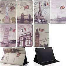 Flip Leather Stand Smart Case Cover For Samsung Galaxy Tab Note Pro P900 P600