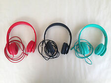 Authentic Beats by Dr. Dre Solo HD Red, Black, Teal Headphones Display Model