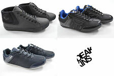 New Mens Nicholas Deakins Patent Trainers Sneakers Canvas Pumps Casual Shoes