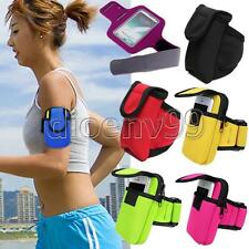 Arm Band Cycling Running Sport Wrist Wallet MP3 Phone Cell Key Pouch Bag Outdoor