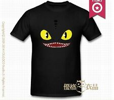 100% Cotton How To Train Your Dragon 2 TOOTHLESS black T-Shirts Parent-child
