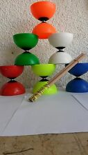 Diabolo Diablo Galaxy Mister Babache Juggling spinning  Hand made wood sticks
