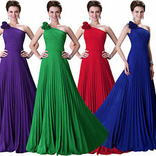 DISCOUNT FAST SHIP Bridal Pleated Gown Formal Prom Party Evening Cocktail Dress