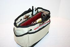 Kwiki Purse Organizer Bag Single-fabric version Black or Beige colors