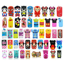 3D Cartoon Superhero Soft Silicone Case Cover For Samsung Galaxy S3 S4 S5 Note 3