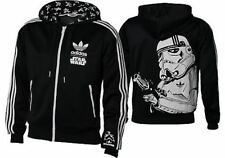 %ADIDAS STAR WARS STORMTROOPER HOODED HOODIE TOP JACKET M L XL