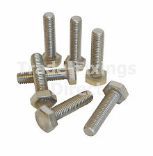 M4 Stainless Steel Hexagon Head Set Screws DIN 933 Trade-Fixings Direct