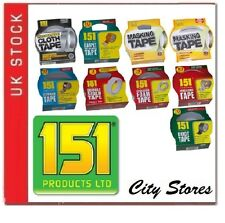 151 DUCT TAPE - MASKING BROWN DOUBLE SIDED CARPET CLOTH ALUMINIUM DUCT PVC