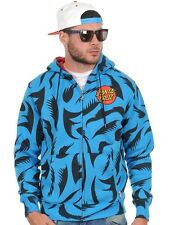 Zip Hoody Santa Cruz Big Mouth Swedish Blu