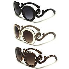 DG Vintage Retro Round Frame Womens Sunglasses Fashion Discount Designer Shades