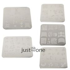 Fshion Women Girls DIIY Nail Art Image Stamp Stamping Plates Manicure Template