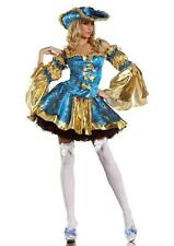 Womens Adult Vixen Pirate Halloween Costume Fancy Dress Outfit M L XL PLUS SIZE