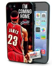 Lebron James CAVS cavaliers coming home iPhone 4 4S 5 5S 5C case free ship