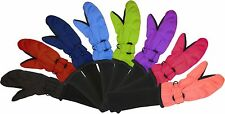 SnowStoppers STAY-ON Nylon Mittens for Ages 1-11