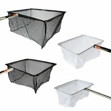 PISCES FISH CATCH NETS WITH HANDLE POND FISHING CATCHING LANDING CLEAN KOI