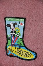 World Scout Jamboree 2015 SWesterSurferS Unit 21 WellyBoot Badge #SWesterSurferS