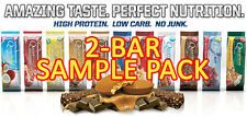 NEW QUEST NUTRITION HIGH-FIBER,GLUTEN-FREE PROTEIN BAR, 2-PACK SAMPLE!17 FLAVORS