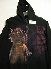 Disney PIRATES of the CARIBBEAN on Stranger Tides Black Hoodie - Jacket