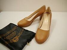 "Fred de la Bretoniere Damen Designer Echtleder Pumps ""Goldies"" Gr. 39 - 41 NEU"