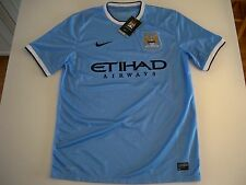 New w tag Nike Manchester City Soccer/Football home replica JERSEY  574863-489