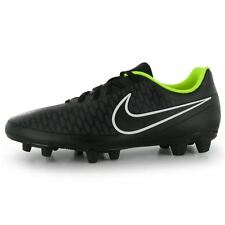 NEW Nike Magista Ola Mens FG Firm Ground Football Boots Trainers - Black & White