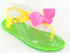 SALE - GIRLS PRETTY JELLY COMFORTABLE SANDALS H0109 IDEAL FOR EVERYDAY WEAR