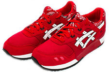 Asics Gel Lyte 3 III Red/White Bandana Pack H424N.2301 Sz 8-13