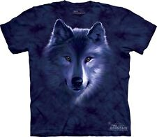 Wolf Fade Kids T-Shirt from The Mountain. Wolves Boy Girl Child Sizes NEW