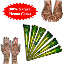Fresh Quality Hand Made Henna Cones Mehndi Cones Tattoo Paste
