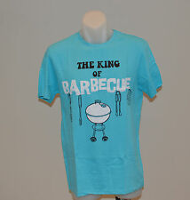 OWK Mens Printed T Shirt - BLUE- SIZES S & M - NEW