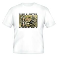 Fire Ems Police T-shirt Firefighter Standard Issue Fireman Firemen Fire Fighter