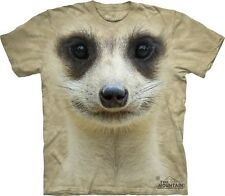 Meerkat Face Kids T-Shirt from The Mountain. Zoo Boy Girl Child Sizes NEW