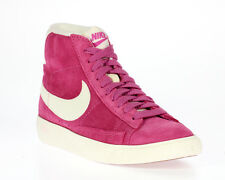 Womens Nike Blazer Mid Suede Vintage Hot Pink/White Trainers 518171-804