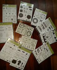 Stampin Up PHOTOPOLYMER UNMOUNTED STAMP SETS (New) - U Choose