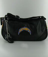 San Diego CHARGERS HELGA PURSE LOT OF 12 Black Leather NFL Womens Ladies Bag