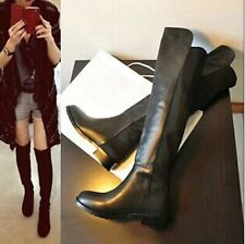 Slim women Fashion-Thigh-High patent leather high boots new autumn
