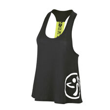 ZUMBA Let Loose-Feel the Music-RACERBACK TOP-CONVENTION UK Harrods RARE S M L XL