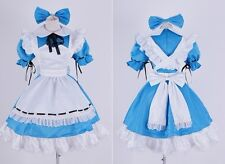 H-139 Alice in Wonderland blau blue Kleid dress Cosplay Kostüm costume nach Maß