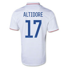 Nike 2014 Team USA Jozy Altidore YOUTH Soccer Jersey #17 Home White NWT
