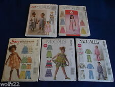 C McCall's ~ All Patterns are Size 1-3 (1-2-3) U-PICK ~ 15+ Listed ~ 9312 ~ NIP
