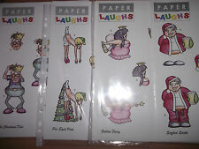 2x A4 Non Die Cut Cardmaking Decoupage Sheet Tipsy Adults Xmas Various Designs