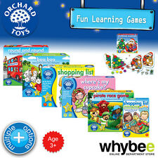 New! Orchard Toys 3yrs+ Fun Learning Games Puzzles Educational - Kids Children