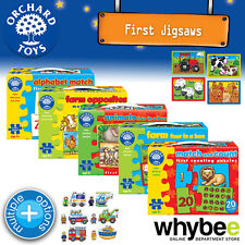 New! Orchard Toys First Jigsaw Puzzles - Infant Kids Childrens Educational Fun