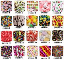 Lampshades Ideal To Match Love Hearts Rugs, Children`s Sweets Wallpaper Borders