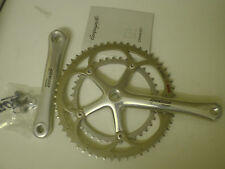NOS 2004 Campagnolo 10 speed Record chainset alloy square taper 53/39T