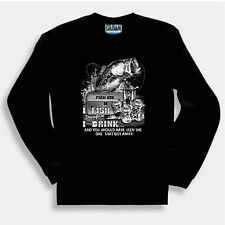Sports Sweatshirt Fish On I Therefore I Drink You Should Have Seen One Got Away