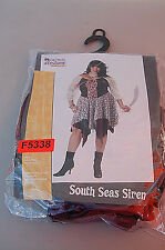 California Costume South Seas Siren Pirate Woman's Halloween Costume F5338