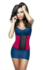 Waist Cincher Trainer,Red,Deportiva Shapewear Workout, Latex, Exercise Colombian